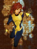 Kitty Pryde Fan art by yienyien