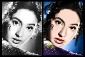 Nutan- frm BW to color by indu111