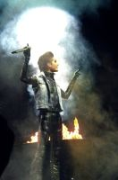 Bill Kaulitz, Humanoid tour 2. by violet-funeralflower