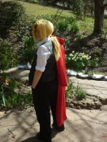Edward Elric- The Road Home by narupikalover