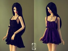 First Lace: Black + Violet ver. by Ylden