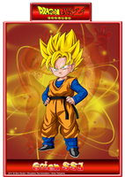 Goten SSJ V1 by CHangopepe
