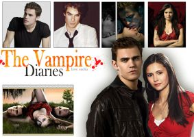 vampire diaries by lauraa-san
