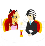 Day 4: On a Date by Feral-Spirit