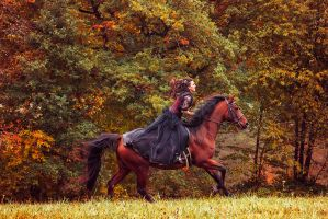 Autumn Run by Lady-AKyashaa