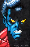 Nightcrawler, Angry Elf by ToddNauck