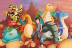 Ben's Pokemon Team by deviantartbrowsa