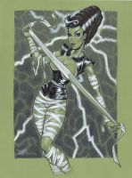 Bride of Frankenstein by MichaelDooney
