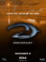 Halo 2: Anniversary | Poster Fan-Made by DANYVADERDAY