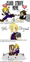 Cloud Strife by onewingedtenchi