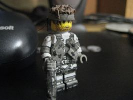 Solid Snake by XUndeadTenguX