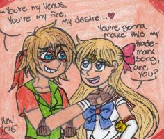 His Venus by Nicktoons4ever