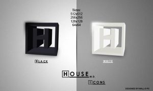 House M.D. Icons by wall-e-ps