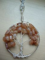 Sunstone tree of life by Ilyere