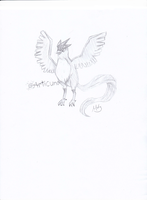 Articuno: for Kanis-major by Dawnfire2025