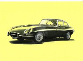 Jaguar E-Type by przemus