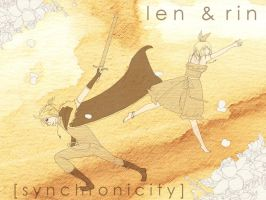 Len and Rin - Synchronicity by sheepsgobaaa