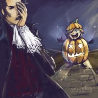 Go Trick-or-Treat With Me by Carcaneloce