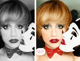 Brittany Murphy Colorize by ClaudyT91
