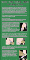 Hand Posing Tutorial - Holding Objects [MMD] by MissingPixieSticks