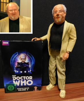 Custom 12'' Colin Baker figure by GermanCompanion