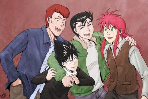 YYH Fancomic Cover by laurbits