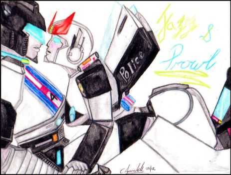 Prowl x Jazz - A Kiss My Beloved? by Ratchets-sparkling