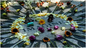 - John Lennon Memorial - by Cam-lou-photos