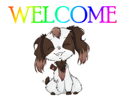 welcome! by pichuspokeball