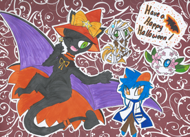 Happy Halloween by SapphireMiuJewel