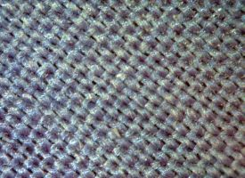Polyester (x60 magnification) by fuguestock