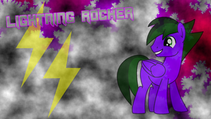 (New) Lightning Rocker wallpaper by LR-Studios
