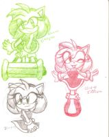 Amy sketchs practice by BlueLove5501