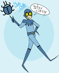blue beetle for dragonsong12 by thebuterfly
