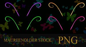 STOCK PNG neon antenna 2 by MaureenOlder