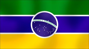 Alt. Brazilian flag by AY-Deezy