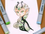 30 Day Monster Girl Challenge: Insect by Bella-ran