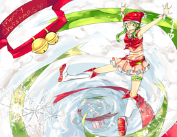 Happy Holidays~ GUMI! by IDK-kun