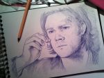 Sam Winchester (Ballpoint pen) by Petite-Madame