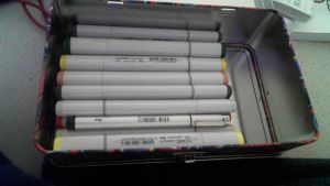 My copic markers by lisabean
