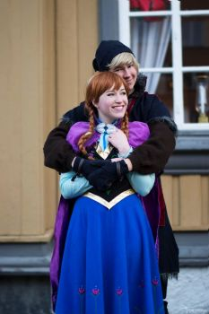 Anna Frozen by Lumacosplay