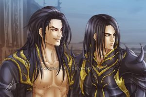 UHA Series_a Prince and a King by xiaoyugaara
