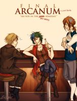 Final Arcanum: Sky Docks by cafe-lalonde
