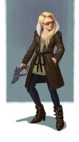 Female Detective by kendmd