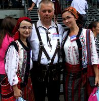 Romania and Germany by Emmpunct