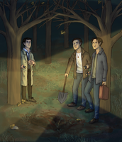 SPN - diggy diggy hole by daxarve