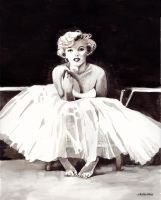 Marilyn 3 by chatte-bleu