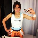 Chell - Instagram by MangoSirene