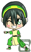 Toph Chibi by IcyPanther1