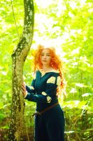 Merida - Brave 3 by StarbitCosplay
